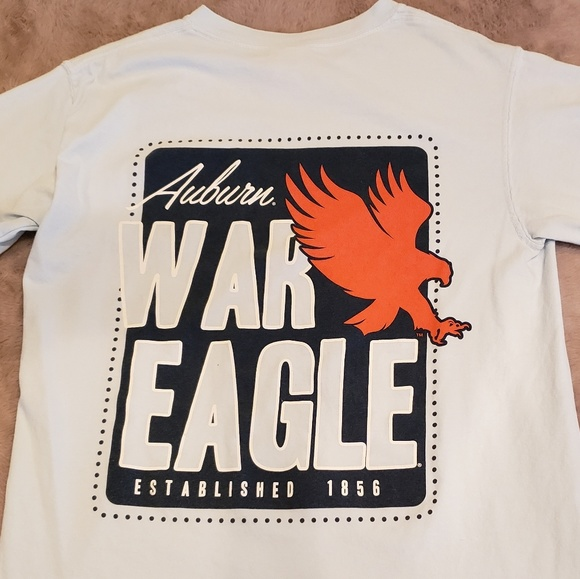 Comfort Colors Other - Comfort Colors Auburn Shirt